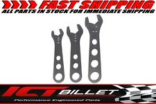 3pc Billet Aluminum Wrench Set 6 8 10 AN Fitting Wrenches