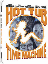 HOT TUB TIME MACHINE - Limited Edition Blu-Ray Steelbook/Steel Case -