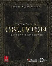 Elder Scrolls IV: Oblivion Game of the Year: Prima Official Game Guide (Prima O
