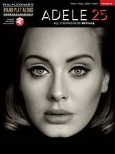 ADELE PlayAlong SKYFALL All I Ask HELLO Chart Hits PIANO MUSIC BOOK Online Audio