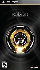 DJ Max Portable 3 UMD PSP COMPLETE SONY PlayStation Portable GAME
