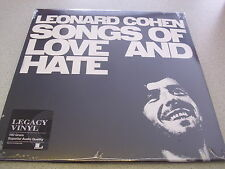 Leonard Cohen - Songs Of Love & Hate - LP 180g Vinyl / Neu&OVP / LEGACY VINYL