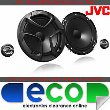 Fiat Punto 2006-2014 JVC 16cm 600 Watts 2 Way Front Door Car Component Speakers