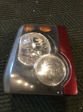 Land Rover Discovery 2 Front Left Headlight W. Maroon Trim Driver Side 03 04
