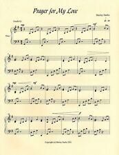 PRAYER FOR MY LOVE, Harp Solo, Ideal Wedding Music!