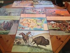 ~13-1959 to 1962 GMC Pontiac native American Posters-NEVER FOLDED!~