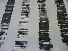 """CB2 Graphite Stripe Fabric 54"""" Charcoal Gray West Elm Crate and Barrel Modern"""