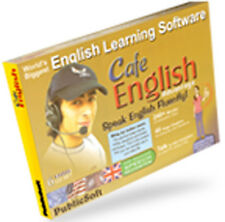 Cafe English For Learn to Speak Better English Today - Software CD