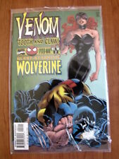 VENOM Tooth and Claw n°2 1996 - Guest Starring Wolverine  Marvel Comics [SA32]