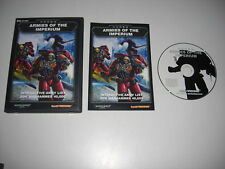 CODEX Armies Of The Imperium Pc Cd Rom Interactive Army List for WARHAMMER 40000