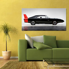 1969 DODGE CHARGER DAYTONA HEMI MOPAR 426 LARGE MUSCLE CAR POSTER 24x48in