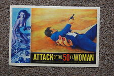 Attack of 50ft Woman #3 Lobby Card Movie Poster