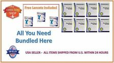 400 PRODIGY BLOOD GLUCOSE TEST STRIPS EXP:08/18+FREE (3 LANCETS BOXES)+FREE S&H