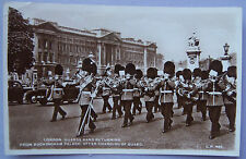 CPA Postcard - UK - London, guards band returning from Buckingham Palace