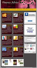Finance Advice AutoBlog  - Earn With AdSense, Amazon And ClickBank!