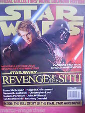 RARE STAR WARS # 57 SUMMER 2005 MOVIE SOUVENIR EDITION WITH POSTERS INSIDE