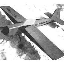 Bauplan Blackbird 2 Modellbau Modellbauplan Trainer für 4-Takt-Kunstflug