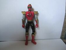 Power Rangers MMPR Navy Thunder Ninja Storm Figure Crimon Thunder