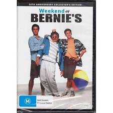 DVD WEEKEND AT BERNIE'S McCarthy 20th ANNIVERSARY COLLECTORS EDITION R4 [BNS]