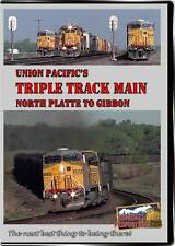 Union Pacific's Triple Track Main North Platte To Gibbon DVD coal trains video