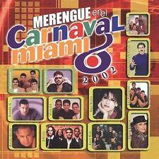 Various Artists, Merengue En El Carnaval Miami 2002, New
