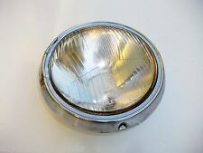 HONDA SUPERDREAM CB250N CB400N - ORIGINAL STANLEY HEADLIGHT WITH CHROME RIM