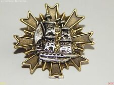 Lo Steampunk Spilla Badge Nave Marinaio Pirata Argento ASSASSIN'S CREED BLACK VELE
