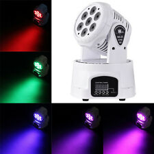 140W RGBW 7X LED Moving Head Stage Light DMX-512 DJ Disco Party Wash Lighting