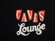 Caves Lounge Beer Bar T Shirt L Black Arlington Texas