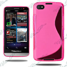 CASE COVERS TPU SHELL SILICONE GEL S-LINE PROTECTIVE FILMS BLACKBERRY Z30 Z 30