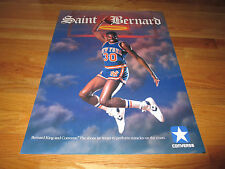 Converse Saint Bernard King Poster New York Knicks