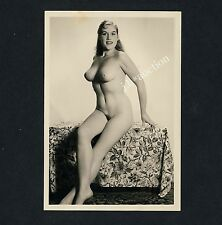 #242 RÖSSLER AKTFOTO / NUDE WOMAN STUDY * Vintage 1950s Studio Photo - no PC !