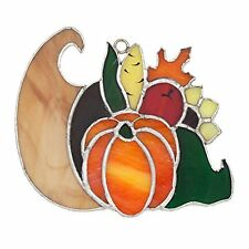 SWITCHABLES Stained Glass Night Light Cover, THANKSGIVING CORNUCOPIA, New In Box