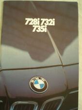 BMW 728i, 732i y 735i FOLLETO 1979 Ed 2