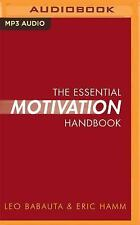 The Essential Motivation Handbook by Leo Babauta and Eric Hamm (2016, MP3 CD,...