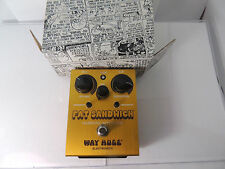 WAY HUGE FAT SANDWICH HARMONIC SATURATOR EFFECTS PEDAL WHE301 DUNLOP FREE SHIP