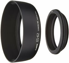 New Canon Lens Hood ES-62 With Adapter Ring 2645A001AA EF50182 from JAPAN