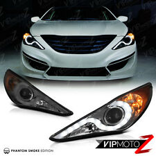[PHANTOM SMOKE] Fit 2011-2014 Sonata GL GLE SE Limited DRL LED Headlights Lamps