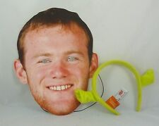 Wayne Rooney Face Mask With Free Shrek Ears (HW244)