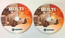 SCANIA Multi 2015 parts catalog, workshop manual, diagrams, etc