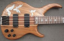 Peavey Grind 4 Electric Bass with Custom Abalone Bat Inlays - 4 String