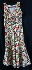 Tommy Bahama 2 Floral Dress Sleeveless Silk Cotton Ready for Spring