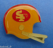 Pin's pin FOOTBALL AMERICAIN CASQUE DES SAN FRANCISCO 49ers (ref L23)
