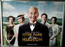 Cinema Poster: HYDE PARK ON THE HUDSON 2012 (Quad) Bill Murray Laura Linney