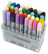 Too Copic Ciao Markers 36 Colors Set A New Free Shipping w/Tracking Manga Anime