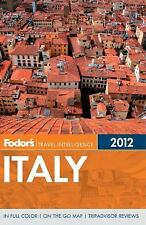 Fodor's Italy 2012 (Full-color Travel Guide)-ExLibrary