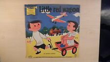 "CRG Records LITTLE RED WAGON 10"" 78 RPM 50s"