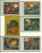 Red Menace Bowman 1951 Lot of 9 cards