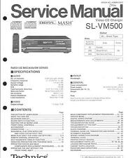 Technics Original Service Manual für SL-VM500 SL VM 500