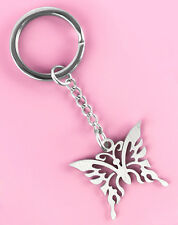 K1195 key chains Stainless Steel key ring popular butterfly design new arrive